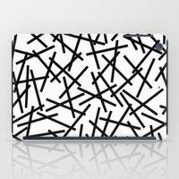 Kerpluk Black on White iPad Case