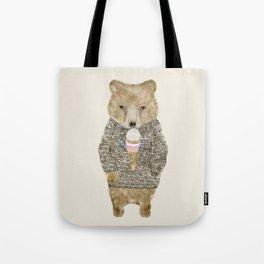 Tote Bag - sundae bear - bri.buckley