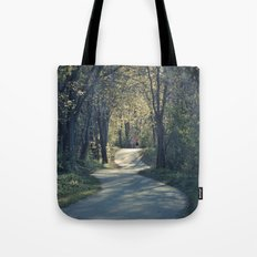 The love trail Tote Bag