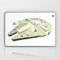 The Millennium Falcon Laptop & iPad Skin