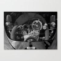 Volkswagen Beetle Engine Canvas Print