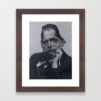 Cut Gropius 3 Framed Art Print
