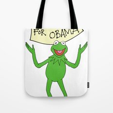Muppets for Obama Tote Bag