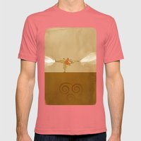 Avatar Aang Mens Fitted Tee Pomegranate SMALL