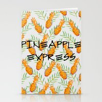 Pineapple Express Stationery Cards