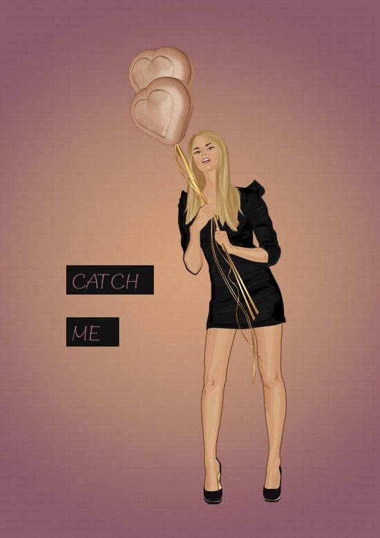 Catch Me Art Print