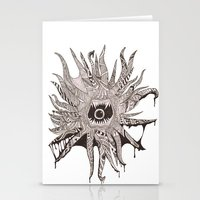 Ink'd Kraken Stationery Cards