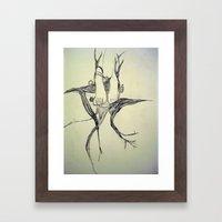 Time & Lockets Framed Art Print
