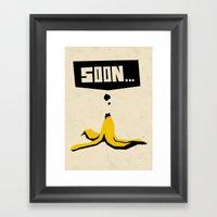 soon... Framed Art Print