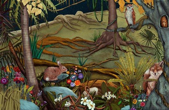 Forest-2 Art Print