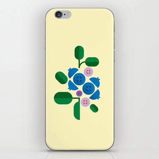 Fruit: Blueberry iPhone & iPod Skin