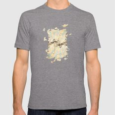 Port Mens Fitted Tee Tri-Grey SMALL