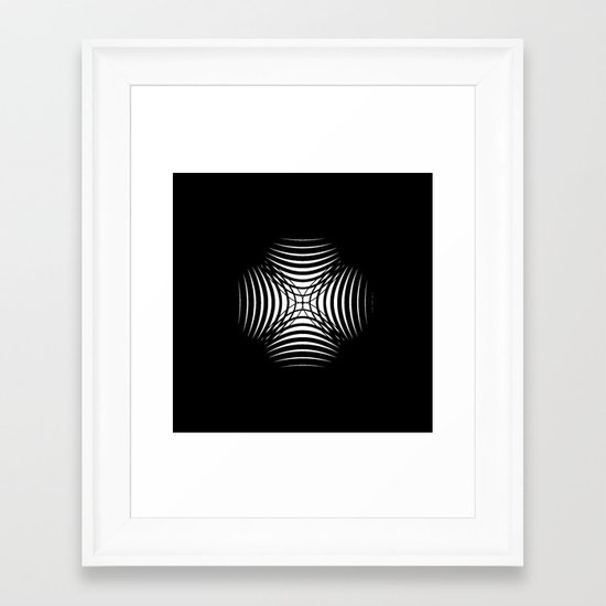 X like X Framed Art Print