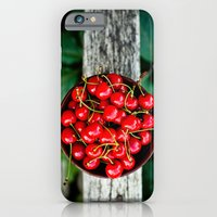 iPhone & iPod Case featuring Cherries by Ginta Spate