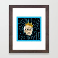 Bernie Smalls for President Framed Art Print