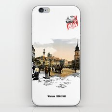 Poland, Warsaw 1890-1900 iPhone & iPod Skin