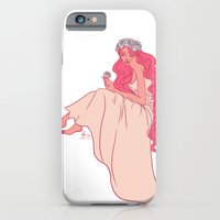 iPhone & iPod Case featuring Blossoms in blue by Tella