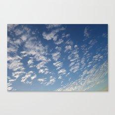 Cloud Patterns #4 Canvas Print