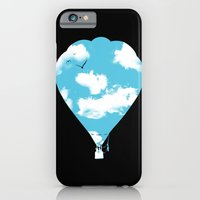 iPhone & iPod Case featuring sky balloon by yakitoko