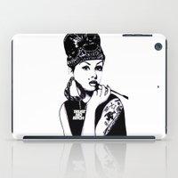 Audrey Hepburn. Rebel: C… iPad Case