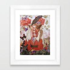 MARGARETHA Framed Art Print