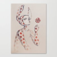 Can't resist the lollipop Canvas Print