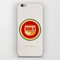 Don Draper iPhone & iPod Skin