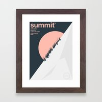 summit single hop Framed Art Print