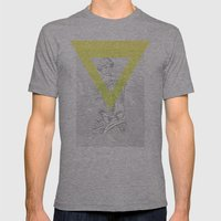 Matrix Milo Mens Fitted Tee Athletic Grey SMALL