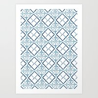 Tiles III - Azulejos, Po… Art Print