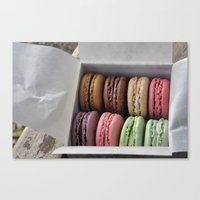 Macaroons  Canvas Print