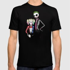 Suicide Nightmare Squad Fine Art Print Mens Fitted Tee Black SMALL
