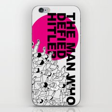 The Man Who Defied Hitler iPhone & iPod Skin