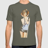 Ruby Mens Fitted Tee Lieutenant SMALL