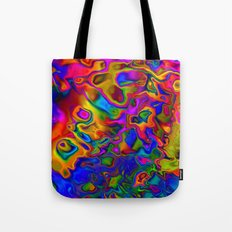 Chromatic Convections Tote Bag