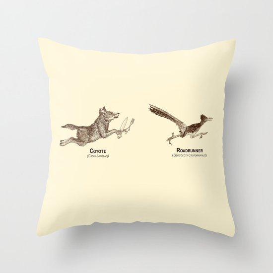 Endangerous Species Throw Pillow