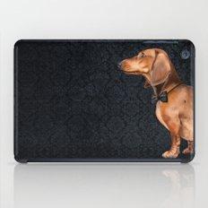 Elegant dachshund. iPad Case