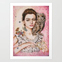 The Most Comfortable Mom… Art Print