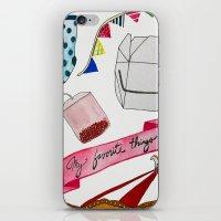 my favorite things iPhone & iPod Skin