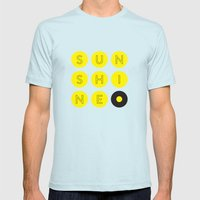 Sunshine Mens Fitted Tee Light Blue SMALL