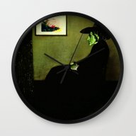 Wall Clock featuring Wizzler's Mother  |  Wic… by Silvio Ledbetter