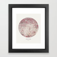 Love the spring Framed Art Print