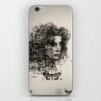 involuntary dilation of the iris iPhone & iPod Skin