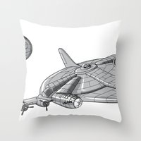 Centenium Falcon Throw Pillow