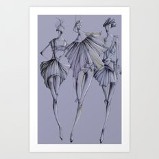 Fashion_Illustration Art Print