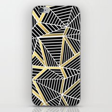 Ab Lines 2 Gold iPhone & iPod Skin