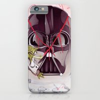 iPhone & iPod Case featuring Yoda Slice by Chris B. Murray