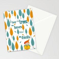 I hear the trees Stationery Cards