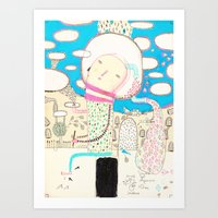 Be Led By Your Dreams Art Print
