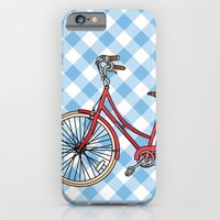 iPhone & iPod Case featuring His Bicycle by Jade Boylan